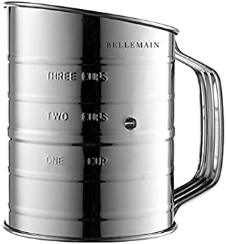 Epica Bellemain Stainless Steel 3 Cup Flour Sifter