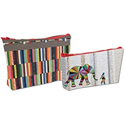 Elephant and I - Eco Pouch Set