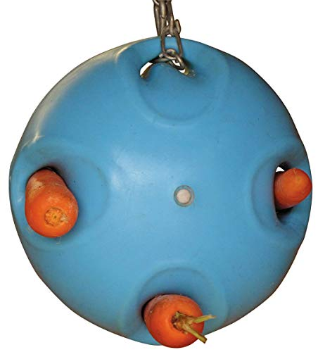 Shires, Carrot Ball, Blue, One Size