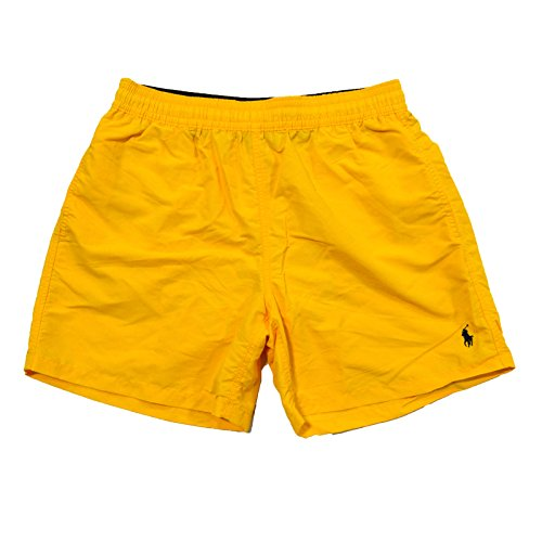 Polo Ralph Lauren Mens Swim Shorts (Slicker Yellow, XXL)