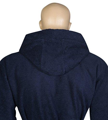 Arus Men s Classic Hooded Bathrobe Turkish Cotton Terry Cloth Robe (L XL dd2f75c50
