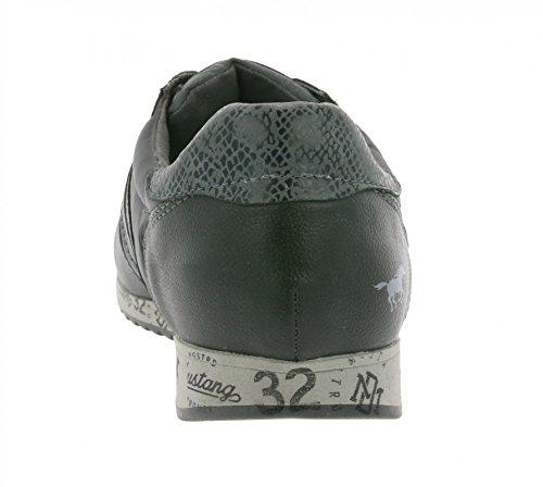 Mustang 4104401 - Zapatillas de Deporte, Hombre negro