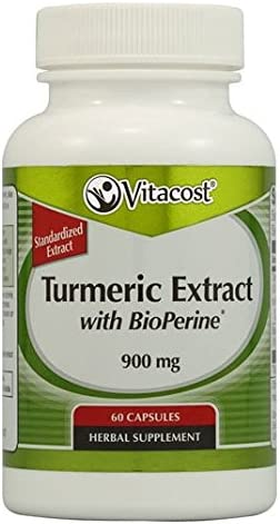 Vitacost Turmeric Extract with BioPerine – 900 mg – 60 Capsules