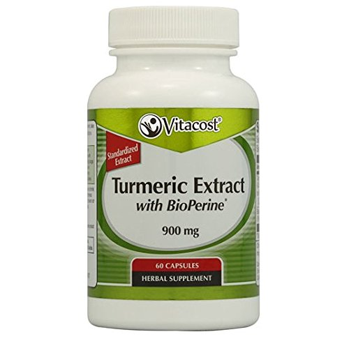 Vitacost Turmeric Extract with BioPerine -- 900 mg - 60 Capsules ()