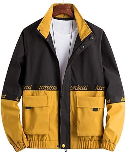 ジャケット メンズ 春秋 ブルゾン カジュアル ゆったり おしゃれ 防寒 コート フード付き 大きいサイズ