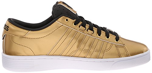 K-Swiss Hoke Metallic CMF S Damen Sneakers Gold (GLD/BLK/WHT 717)