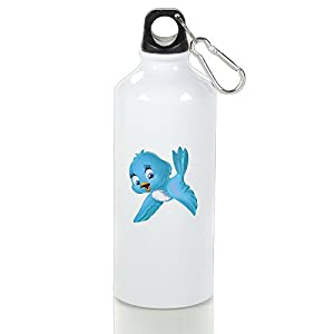 EricHX Peace Dove Travel Hiking Sports Portable Bicycle Water Bottles 600ml