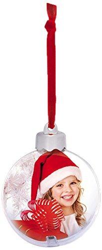 Pallina Natale Con Foto Digitale.Kit 4 Palle Di Natale Personalizzabili Con Foto