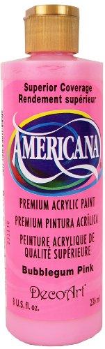 DecoArt DA250-9 Americana Acrylics, 8-Ounce, Bubblegum Pink