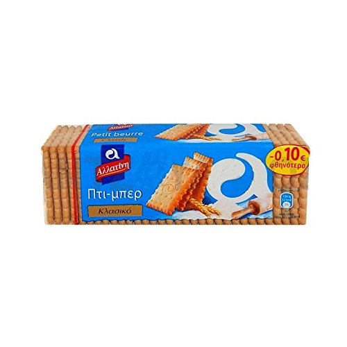 (BOX) 32 Pcs biscuits Petit Beurre ALLATINI GREEK FROM GREECE X 225g