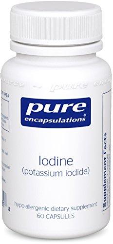 Pure Encapsulations Iodine potassium Capsules