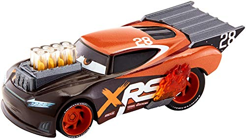 Disney Pixar Cars XRS Drag Racing Nitroade (1 18 Scale Diecast Drag Racing Cars)