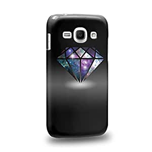 Case88 Premium Designs DIAMOND NEBULA TREND MIX 0807 Carcasa/Funda dura para el Samsung Galaxy Ace 3