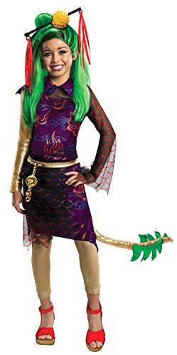 Girls - Monster High Jinafire Child Costume Lg Halloween Costume]()