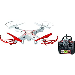 World Tech Toys 2.4 GHz 4.5 Channel Striker Spy Drone Picture & Video Remote Control Quadcopter
