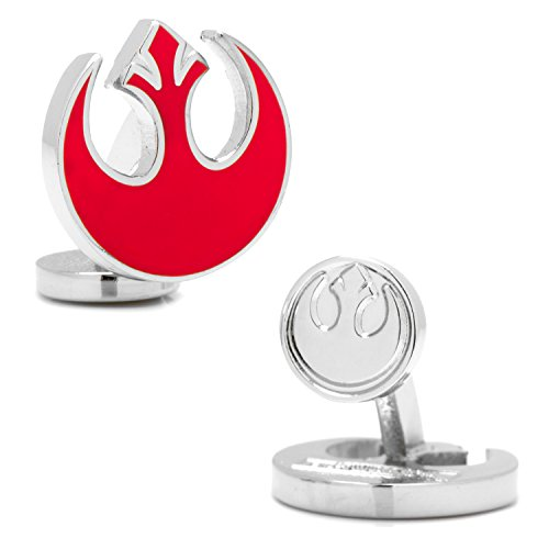 Cufflinks Inc. Men's Star Wars? Rebel Alliance Symbol Cufflinks Red One Size (Cufflinks Enameled)