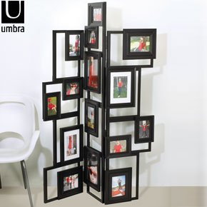 umbra treble floor standing photo frame