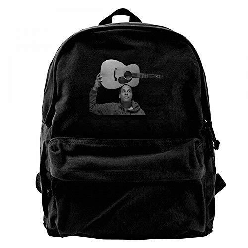 RobertJ.Rivera Unisex Womens Mans Jack Johnson Canvas Durable School Young Idol Bag Black