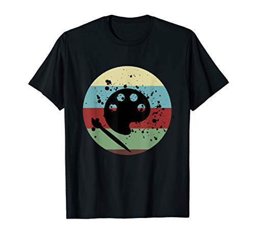 Cool Graphic Tees - Paint Brush Graphics Printed