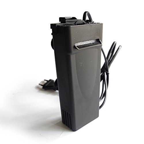 Low Water Filter For Aquarium And Turtle Tank,2 Fix Type Hang And Suction,Quiet Silence,Replace Filter Cotton (220V)