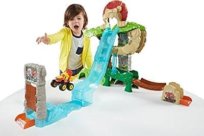 Fisher-Price Nickelodeon Blaze & the Monster Machines, Animal Island Stunts Speedway from Fisher Price
