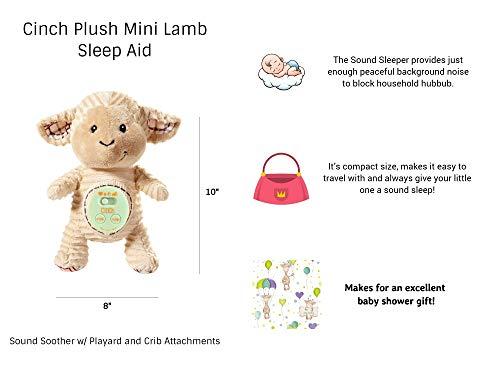 Cinch by dexbaby Mini Lamb Aid Womb w/Playard