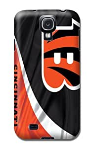 Nfl Cincinnati Bengals Football Tpu Skin Cover Case Compatible With Samsung Galaxy S4 by mcsharks