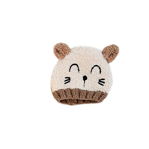 Gotd Baby Girls Boys Kids Toddler Knit Cap Warm Earflap Hat