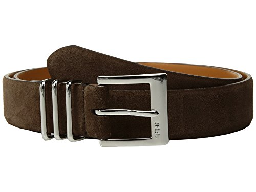 LAUREN Ralph Lauren Women's Classics Belt (Dark Brown, Small) (Lauren Ralph Lauren Leather C Buckle Belt)