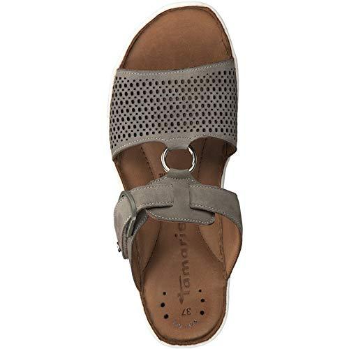27400 Sandalia sandalias Tiras Con 22 Correa Tamaris Mujer Olive 1 1 verano qwHSpp1