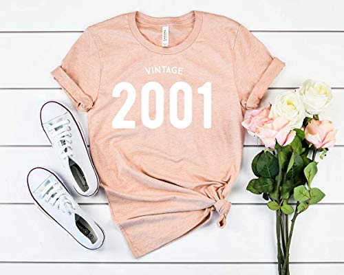 18th birthday shirt, 2001 birthday shirt, Vintage shirt ()