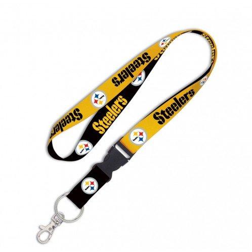 (NFL Pittsburgh Steelers Lanyard with Detachable Buckle, 1