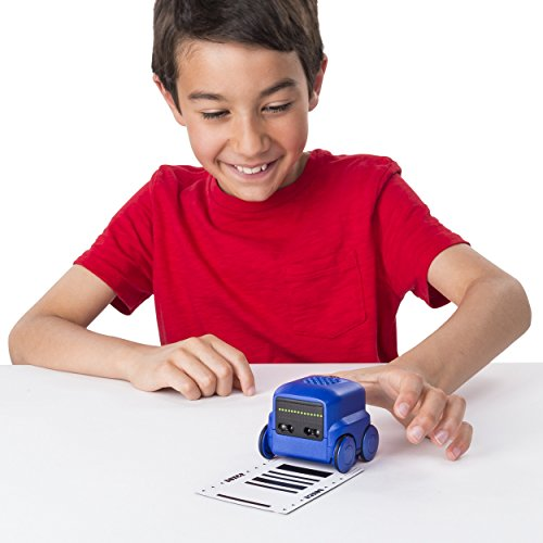 41rPM7YnzKL - Boxer - Interactive A.I. Robot Toy (Blue) with Personality and Emotions, for Ages 6 and Up
