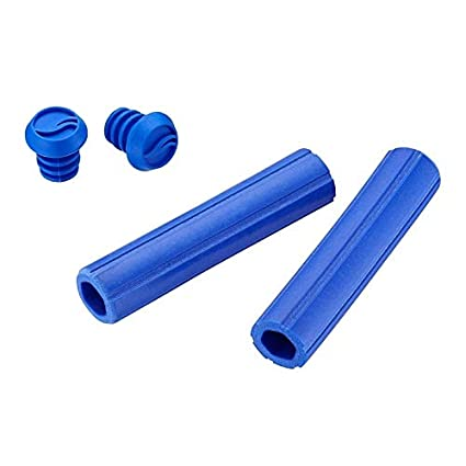 Giant puños de Silicona MTB Bicicleta Azul Contact Grip Blue ...
