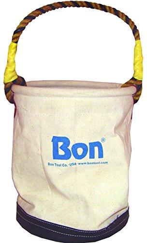 Bon 41-102 Economy Canvas Tool Bucket with Leather