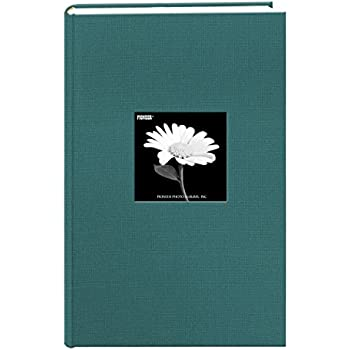 Fabric Frame Cover Photo Album 300 Pockets Hold 4x6 Photos, Majestic Teal