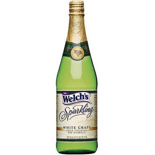 Welch's Sparkling Grape Juice Cocktail - Non Alcoholic 25.4oz/750ml Glass (Sparkling Cocktail)