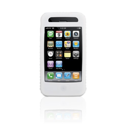 Griffin FlexGrip for iPhone 3G and 3G S (Clear,White)