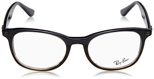 Unisex Eyeglasses Grey On Stripped Ray Gradient ban Rx5356 q5SqwTC