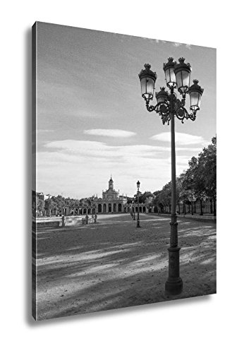 Ashley Canvas Aranjuez Site In Spain Church Of San Antonio, Wall Art Home Decor, Ready to Hang, Black/White, 20x16, AG5652871 by Ashley Canvas