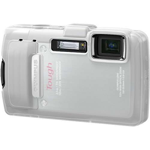 - Olympus CSCH-114 Silicone Jacket for TG-830  Camera (Clear)