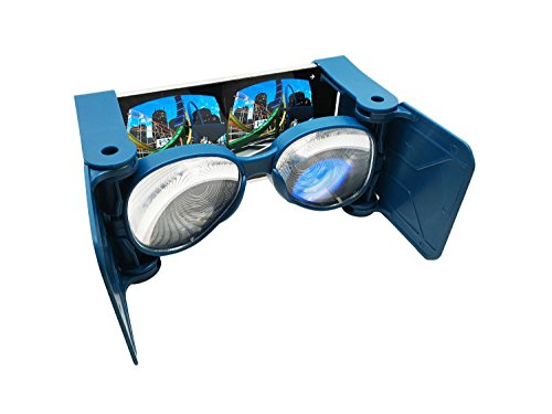 Wearality Sky - Virtual Reality Headset - Super-wide Field of View - Portable, Foldable, Accessible