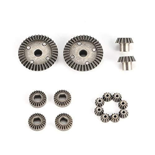 DEH 12T 15T 24T 38T Diff.Main Metal Gear Parts for WLtoys A949 A959 1/18 RC Car - Gray