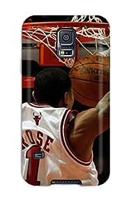 Jose Cruz Newton's Shop New Style 6728809K305788843 sports slam dunk nba basketball derrick rose chicago bulls NBA Sports & Colleges colorful Samsung Galaxy S5 cases