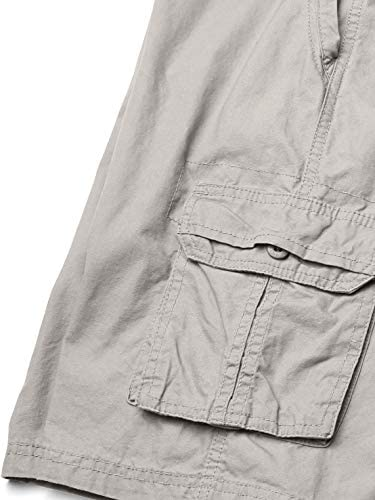 Southpole Boys' Big Belted Mini Canvas Cargo Shorts in
