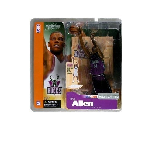 McFarlane Sportspicks: NBA Series 2 Ray Allen (Chase Variant) Action Figure
