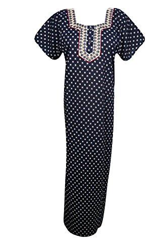 Modern Damen Marineblau Rot Kleid Interior kastanienbraun Mogul L E5xHq0wHa