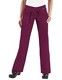 KOI Classics 713 Women's Morgan Scrub Pant Wine XL