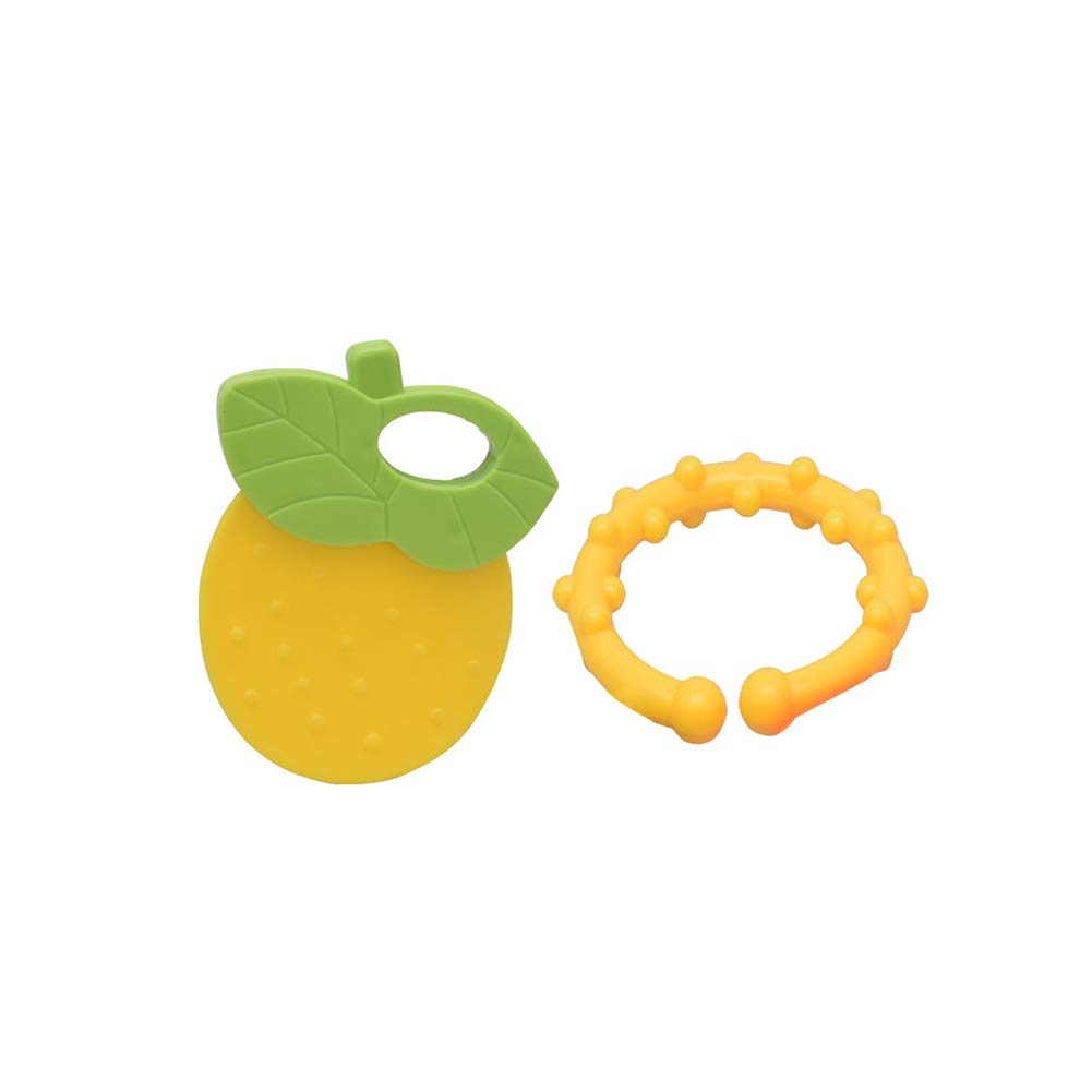 Forma de mordedores bebé de juguete Set 4 piezas de fruta de ...