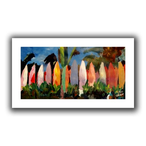 ArtWall-Martina-and-Markus-Bleichner-Surf-Wall-2-Unwrapped-Flat-Canvas-Artwork-16-by-28-Inch
